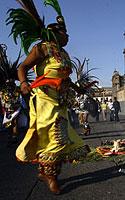 Meksikas, šokiai gatvėje
