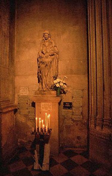 Šventosios Anos statula Avinjone