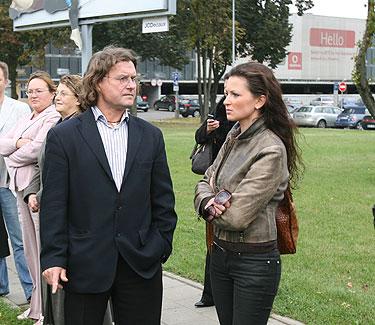 Antanas Bosas (kairėje)