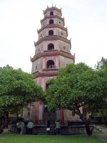 Vietnamas, Hue, Thien Mu pagoda