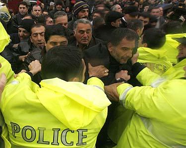 Opozicijos mitingas Tbilisyje