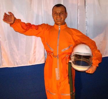 Vaškinė Jurijaus Gagarino figūra