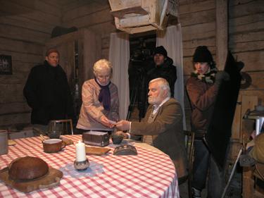 V.V.Landsbergio filmo kūrimas