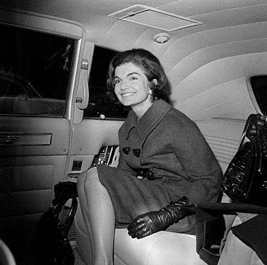 Jacqueline Kennedy-Onassis 1963 m.