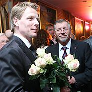Marius Jovaiša ir Gediminas Kirkilas