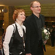 Rasa Krasauskaitė ir Edmundas Jakilaitis