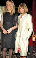 Cate Blanchett ir Anna Wintour