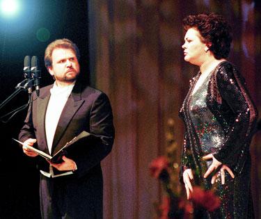 Sergejus Larinas ir Violeta Urmanavčiūtė
