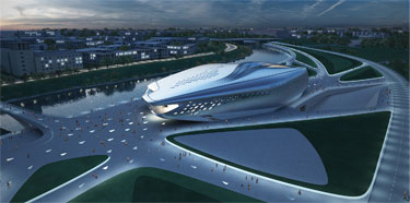 Z.Hadid muziejaus projektas