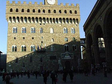 Florencija. Senieji rūmai