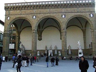 Florencija. Sinjorijos aikštė