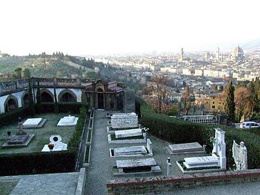 Florencija. Istorinės kapinės