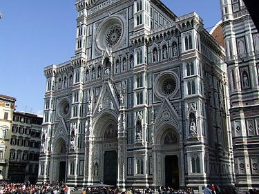 Florencijos katedros fasadas