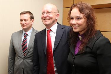 Linas Songaila, Artūras Valinskas ir Indrė Pleskovaitė