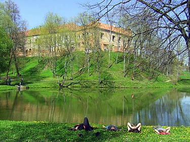 Vytėnų pilis ir parkas, Panemunės pilys