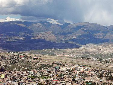 Peru, Ayacucho, panorama