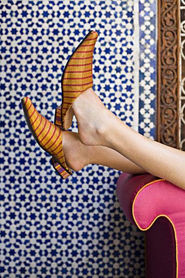 Įspiriami bateliai (Marokas)