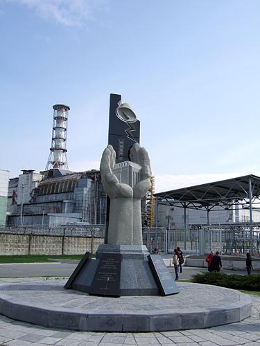 Černobylis, pamiklas žuvusiems