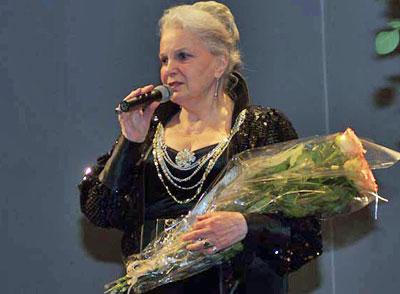 Элина Быстрицкая в Вильнюсе