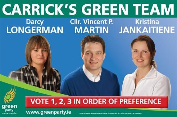 На выборах в Ирландии литовка обошла ирландцев