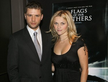 Reese Witherspoon ir Ryanas Philippe