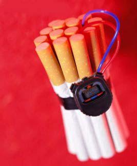 erekcijos dūmai)