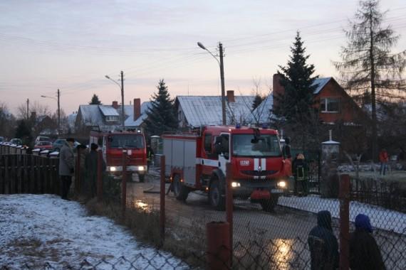 Vilniuje sudegė gyvenamasis namas