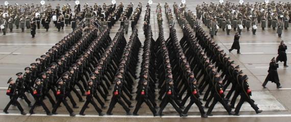 Rusija ruošiasi paradui Raudonojoje aikštėje