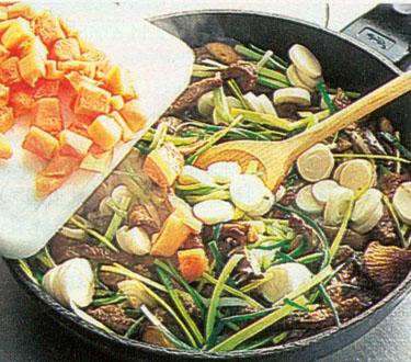 Jautiena su daržovėmis kiniškai_9