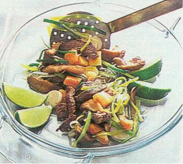Jautiena su daržovėmis kiniškai_10