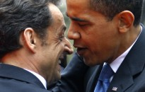 N.Sarkozy ir B. Obama