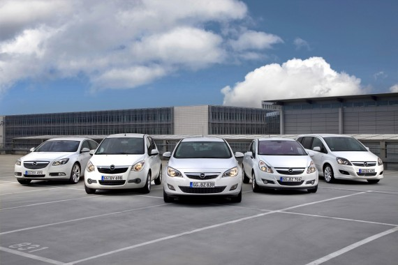 Opel ecoFLEX modeliai