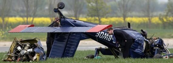 N.Farage lėktuvo avarija