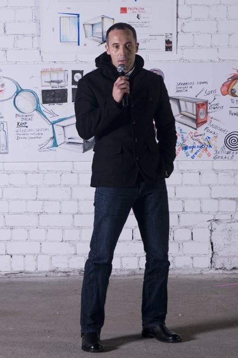 Vilniaus dizaino kolegijos vykdantysis direktorius Aldis Fledžinskas