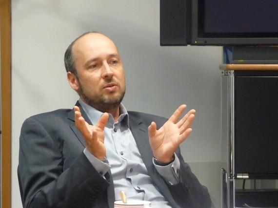 Vokietijos vaikų kanalo KI.KA programų direktorius Steffenas Kottkampas