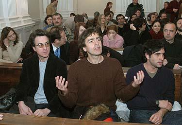 Francois Cluzet, Richard Kolinka ir Samuel Benchetrit