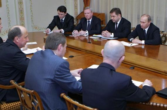 A.Kubilius Maskvoje susitiko su V.Putinu