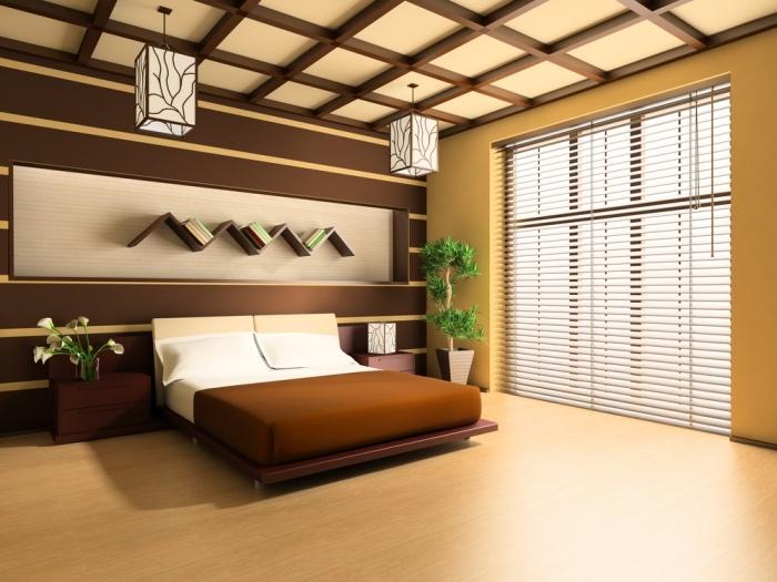 Miegamasis menas vir lovos for Camera da letto zen