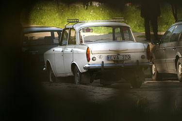 """Senas automobilis, """"Moskvič"""""""