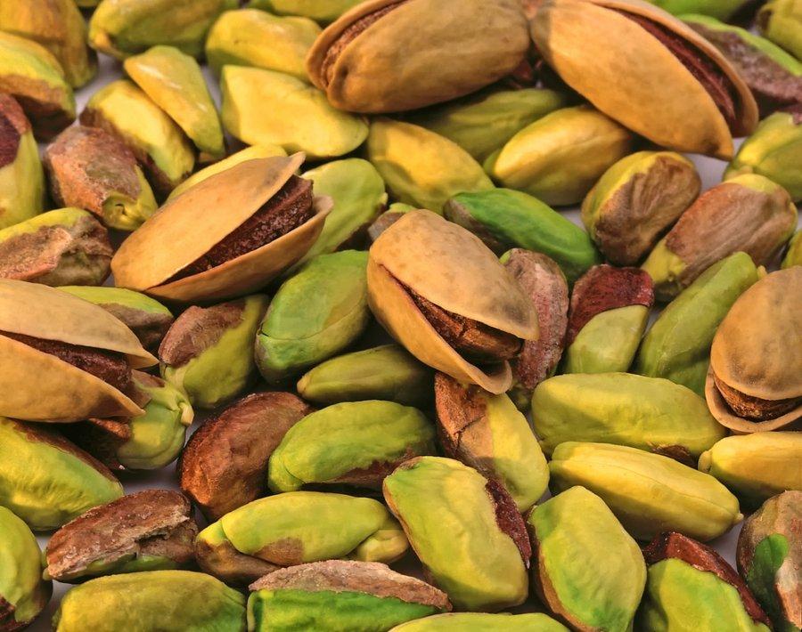 Yra pistacijos, tinkamos svorio metimui