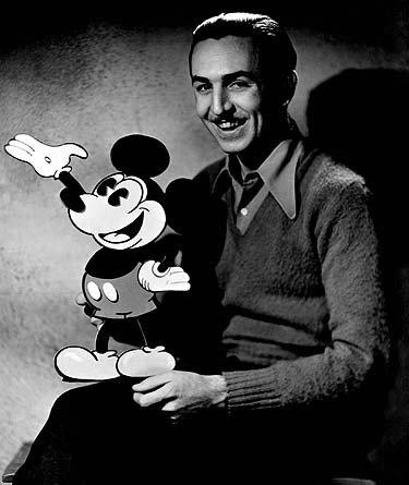 Waltas Disney'us ir peliukas Mikis