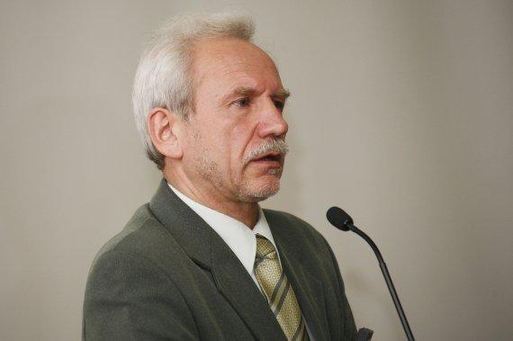 Baltarusių politologas Valerijus Karbalevičius. Stefan Günther, n-ost nuotr.