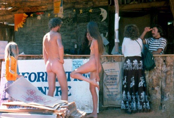 Nambassa. Village Market. Nudity in a 1981.