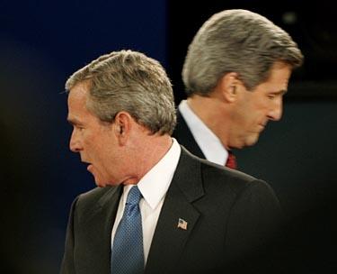 G. Busho ir J. Kerry debatai