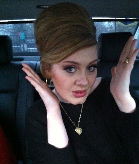"Adele. ""Twitter"" nuotr."