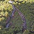 Nuo bėgių nuvirtęs traukinys Filipinuose