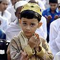 Bangladešo berniukas musulmonas