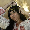 Rumunų čigonė-burtininkė
