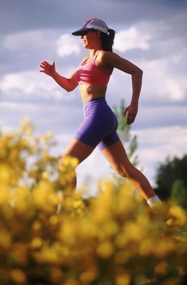 sportas, bėgimas, moteris