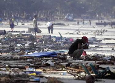 Tailandietis paplūdimyje